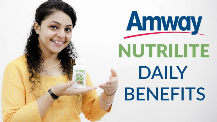 amway nutrilite daily benefits