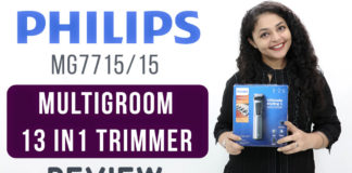 philips MG7715 trimmer review